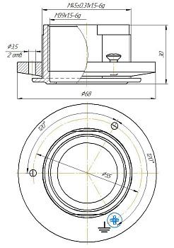 Плафон для лампы LS 01-1,5-К